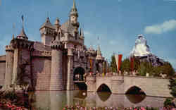 Disneyland, The Magic Kingdom Postcard