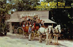 Silver Dollar City's Butterfield Stage Coach