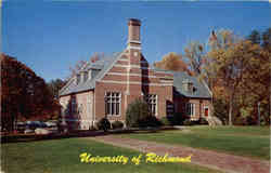 University of Richmond Campus Postcard