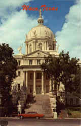 McLennan County Courthouse Postcard