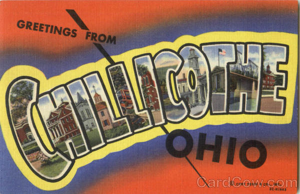 Greetings From Chillicothe Ohio Large Letter