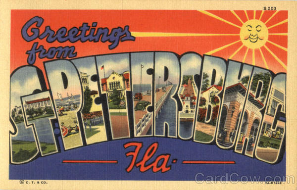 Greetings From St. Petersburg Florida