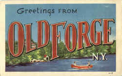 Greetings From Old Forge