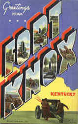 Greetings From Fort Knox Postcard