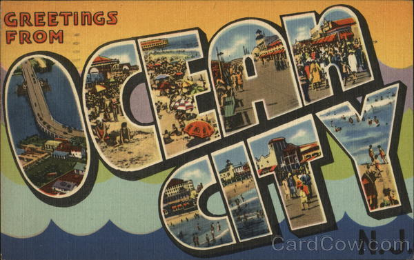 Greetings from Ocean City, NJ New Jersey