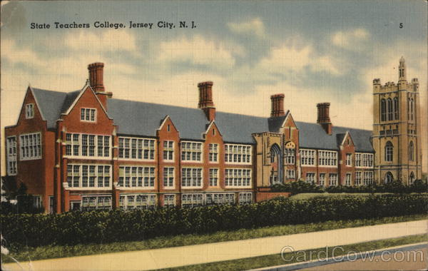 State Teachers College Jersey City New Jersey