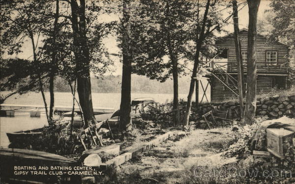 Boating and Bathing Center, Gipsy Trail Club Carmel New York