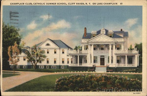 Champlain Club, Catholic Summer School