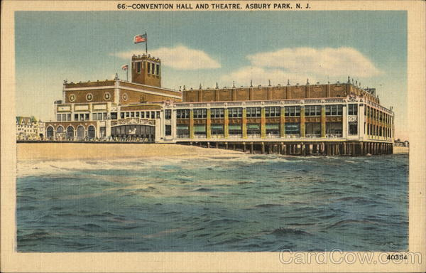 Convention Hall and Theatre Asbury Park New Jersey