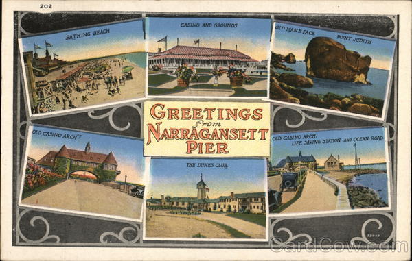 Greetings from Narragansett Pier Rhode Island