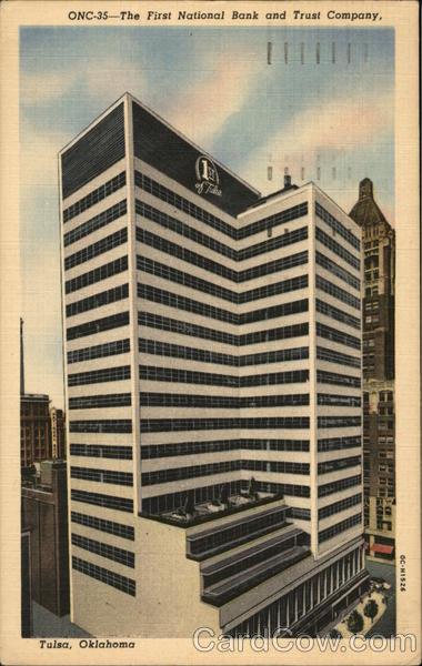 The First National Bank and Trust Company Tulsa Oklahoma