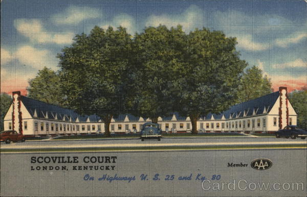 Scoville Court, On Highways U.S. 25 and Ky. 80 London Kentucky