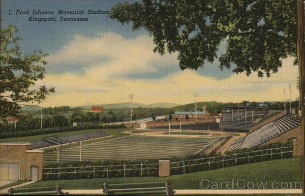 J. Fred Johnson Memorial Stadium Kingsport Tennessee