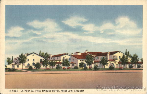 La Posada, Fred Harvey Hotel Winslow Arizona