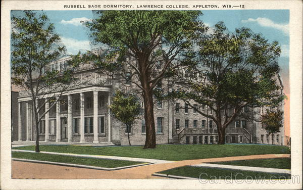 Russell Sage Dormitory, Lawrence College Appleton Wisconsin