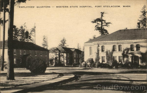 Employee's Quarters, Western State Hospital Fort Steilacoom Washington