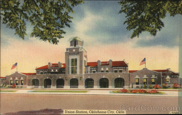 View of Union Station Oklahoma City