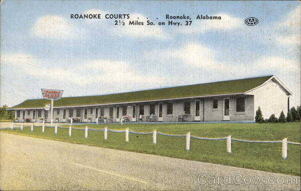 Roanoke Courts Alabama