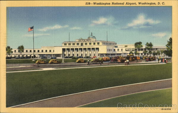 The Washington National Airport District of Columbia