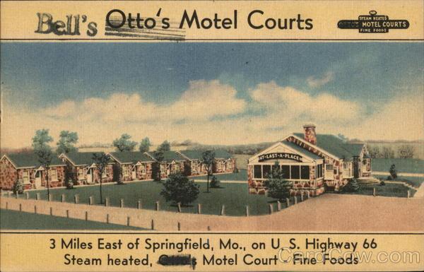 Otto's Motel Courts Springfield Missouri