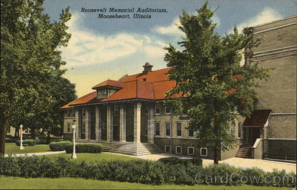 Roosevelt memorial Auditorium Mooseheart Illinois