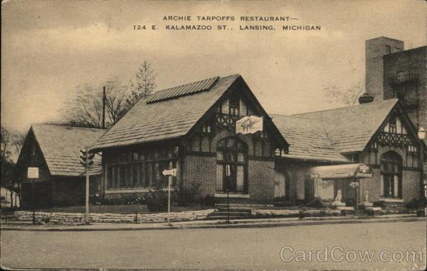 Archie Tarpoffs Restaurant 124 E Kalamazoo St