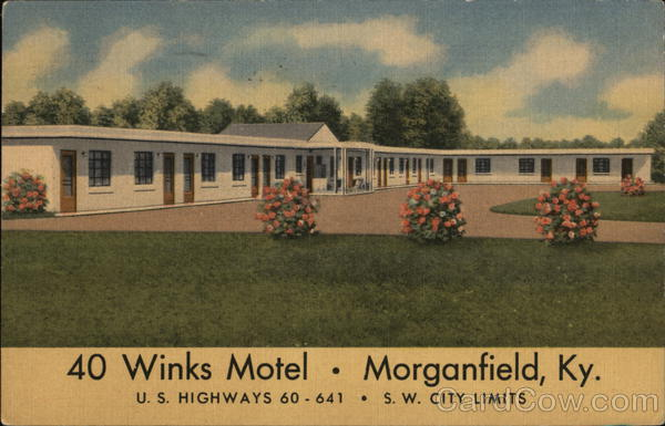 40 Winks Motel Morganfield Kentucky