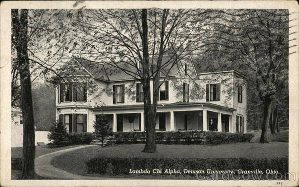 Lambda Chi Alpha, Denison University Granville Ohio