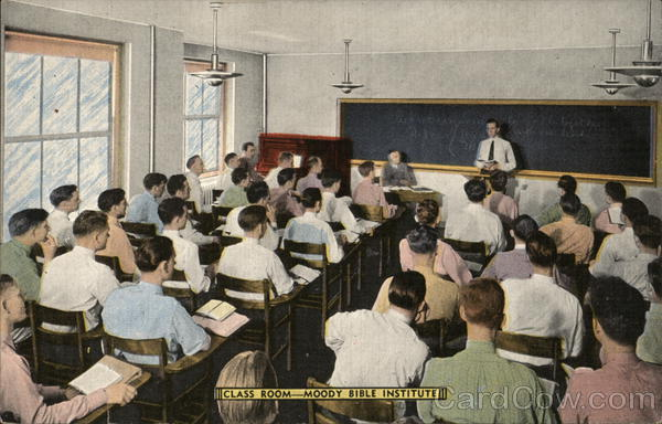 The Moody Bible Institute of Chicago - Classroom Illinois