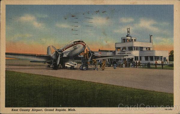 Kent County Airport Grand Rapids Michigan