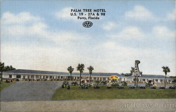 Palm Tree Motel Perry Florida