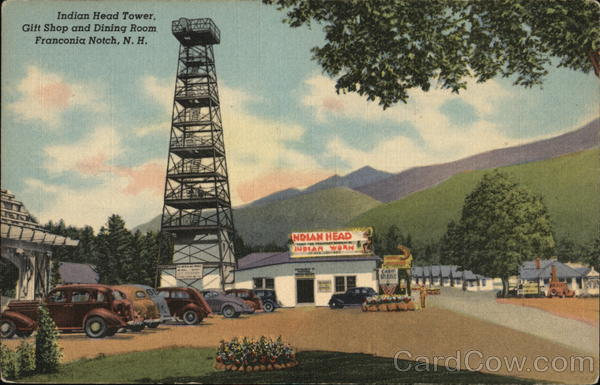 Indian Head Tower, Franconia Notch Lincoln New Hampshire