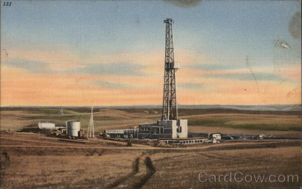 Oil Well North Dakota