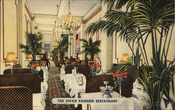Divan Parisian New York City