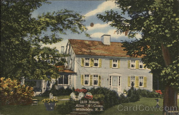 1810 House Allen A Camp Wolfeboro New Hampshire
