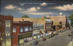 West Center Street Looking West, Marion, Ohio