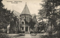 Talcott Hall, Oberlin College Postcard