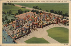 Streets of the World, International Village, Great Lakes Exposition