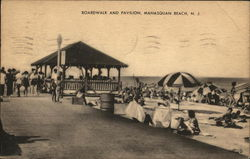 Boardwalk and Pavilion, Manasquan Beach