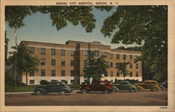 Oneida City Hospital Postcard