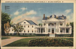 Champlain Club, Catholic Summer School