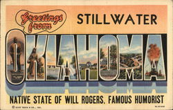 Greetings from Stillwater, Oklahoma
