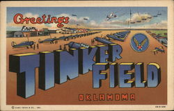 Greetings from Tinker Field, Oklahoma