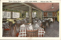 Winter Dining Room...Lake Lawn Hotel