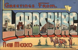 Greetings from Lordsburg