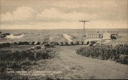 Bath Houses at Corporation Beach, Cape Cod
