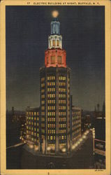 Electric Building at Night