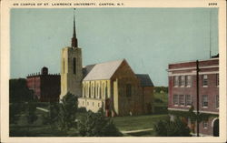 On Campus of St. Lawrence University