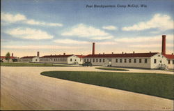 Post Headquarters, Camp McCoy