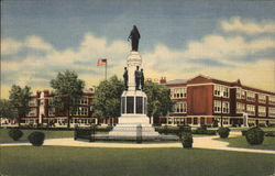 Union-Endicott High School and World War Monument